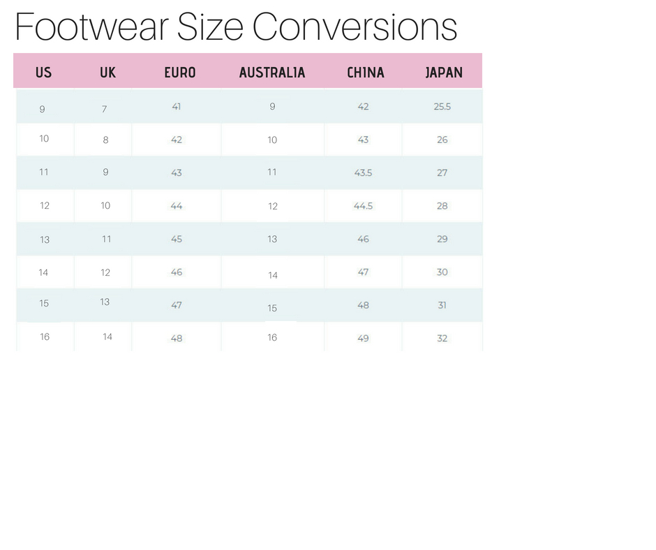 footwear-size-conversions