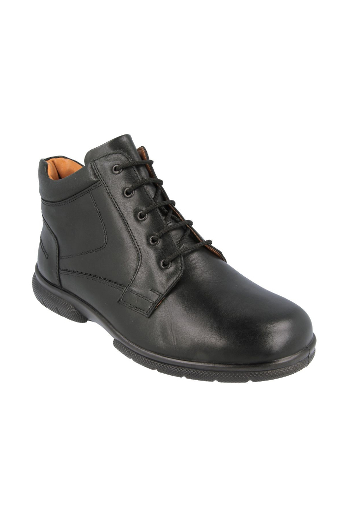 Extra wide fit men's ankle boots DB