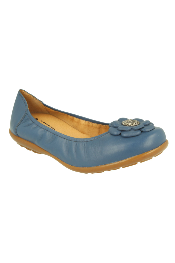 competitive price moderate price offer Extra wide fit women's flats DB Shoes 70493X 6V