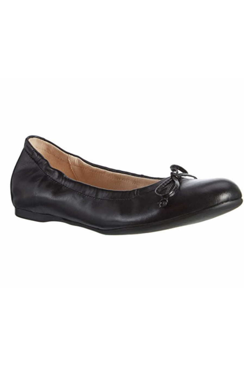 Black big size ballerinas Gabor 64.120.27 The Tall Collective